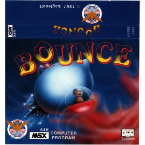 Bounce (1987, MSX, Double Brain!)