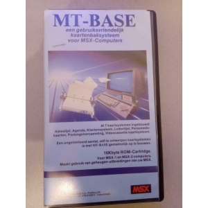 MT-Base (1985, MSX, Micro Technology)