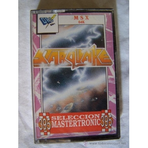 Starquake (1985, MSX, Bubble Bus)