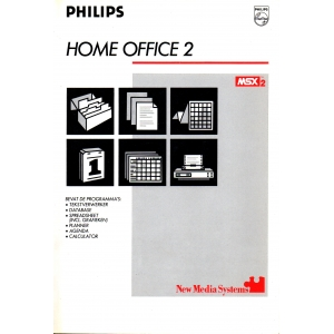Home Office 2 + MSX-DOS (1986, MSX2, Philips, Computer Mates)