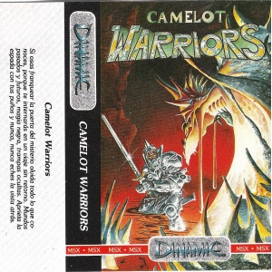 Camelot Warriors (1985, MSX, Dinamic)