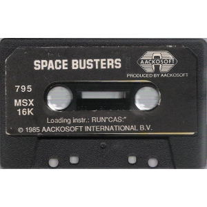 Space Busters (1985, MSX, Aackosoft, The Bytebusters)