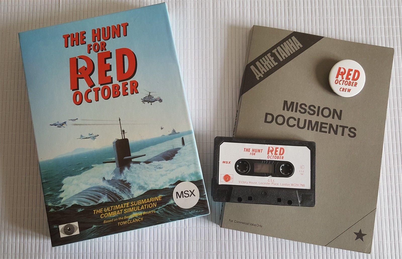 The Hunt for Red October (1987, MSX, Grandslam