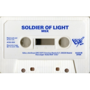 Soldier of Light (1989, MSX, TAITO)