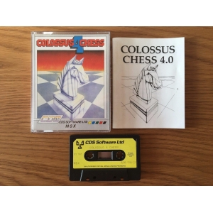 Colossus Chess 4 (1986, MSX, CDS Software)