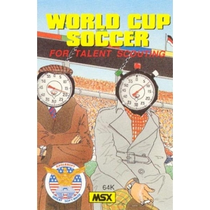World Cup Soccer - For talent scouting (1986, MSX, Eaglesoft)