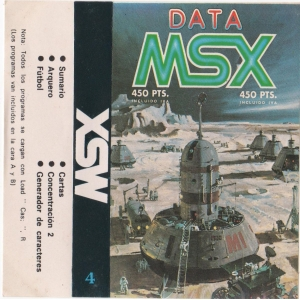 Data MSX Vol. IV (MSX, GEASA)