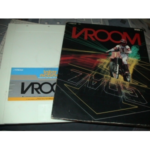 VROOM - Motorcycle Race (1985, MSX, Victor Co. of Japan (JVC))