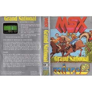 Champions Grand National (1984, MSX, Pony Canyon)