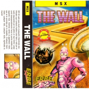 The Wall (1986, MSX, Erbe Software)