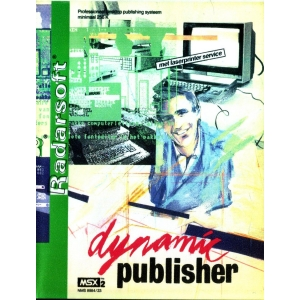 Dynamic Publisher (1987, MSX2, Radarsoft)