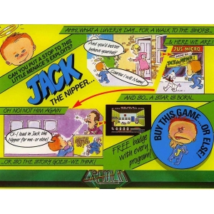 Jack The Nipper (1986, MSX, Gremlin Graphics)