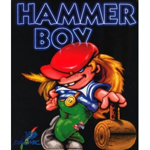 Hammer Boy (1991, MSX, Dinamic)