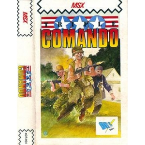 Triple Comando (1988, MSX, Xortrapa Soft)