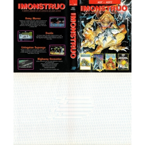 Pack Monstruo (1987, MSX, Dinamic)