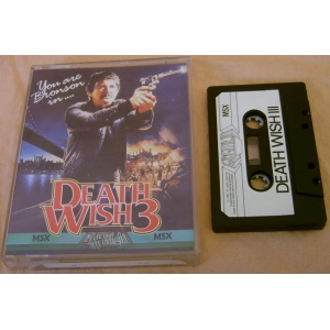 Death Wish 3 (1987, MSX, Gremlin Graphics)