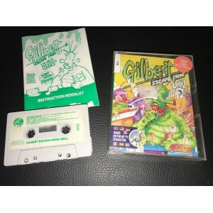 Gilbert - Escape from Drill (1989, MSX, Enigma Variations)