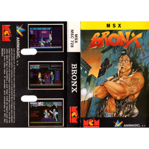 Bronx (1989, MSX, Animagic)
