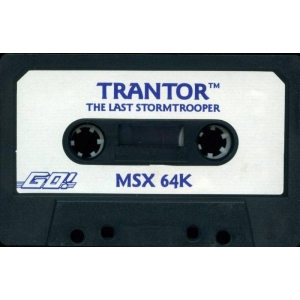 Trantor, The last Stormtrooper (1987, MSX, Probe Software)