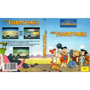 The Flintstones (1987, MSX, Grandslam Entertainments)