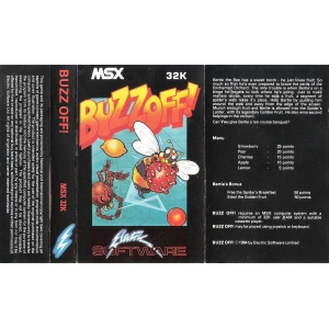 Buzz Off! (1984, MSX, Electric Software)