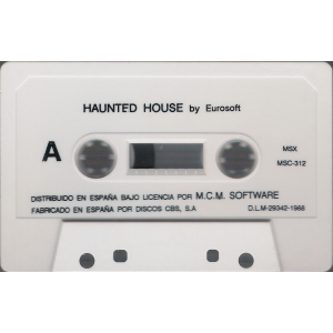 Haunted House (1988, MSX, Eurosoft)