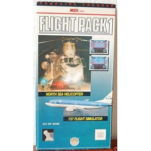 Flight Pack 1 (MSX, Premium III Software Distribution)
