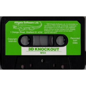 3D Knockout (1985, MSX, Alligata)