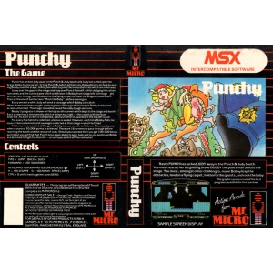 Punchy (1984, MSX, Mr. Micro)