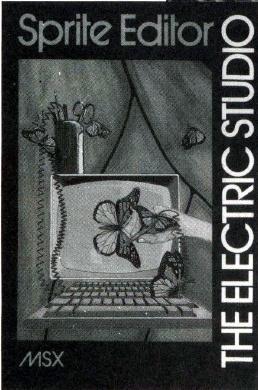 Sprite Editor (MSX, The Electric Studio)   Releases