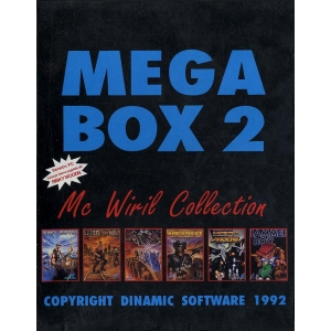 Mega Box 2 (1992, MSX, Dinamic)
