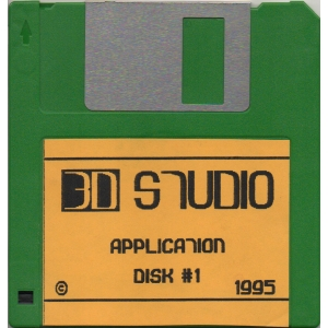 3D Studio (1995, MSX2, Atlantis Software (BE))