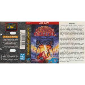La Aventura Original (1989, MSX, Aventuras AD)