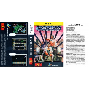 Cyberbig (1989, MSX, Animagic)