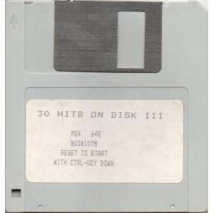 30 MSX Hits (1988, MSX, Premium III Software Distribution)