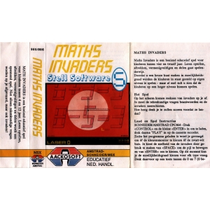 Maths Invaders (1985, MSX, Stell Software)