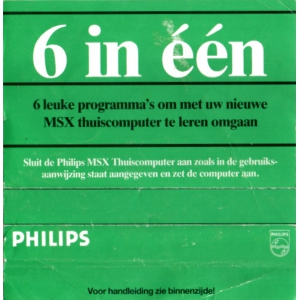 6 in één (1986, MSX, Philips)