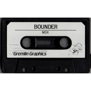 Bounder (1985, MSX, Gremlin Graphics)