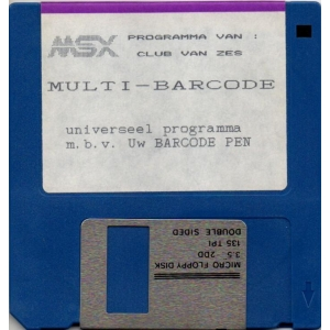 Multi-Barcode (1991, MSX2, NewVision, Club van Zes)