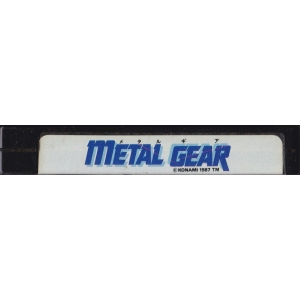 Metal Gear (1987, MSX2, Konami)