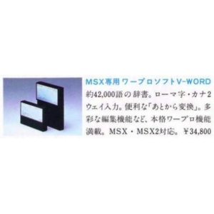 Japanese word processor unit (1985, MSX, Canon)