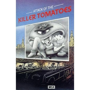 Attack of the Killer Tomatoes (1986, MSX, Global Software)