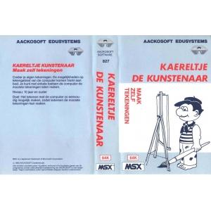 Kaereltje de Kunstenaar (Tekenen) (1985, MSX, Aackosoft)