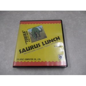 Saurus Lunch 5 (1991, MSX2, Co-Deuz Computer)