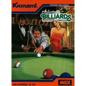 Video Hustler (1983, MSX, Konami)
