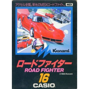 Road Fighter (1985, MSX, Konami)