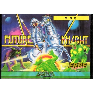 Future Knight (1986, MSX, Gremlin Graphics)