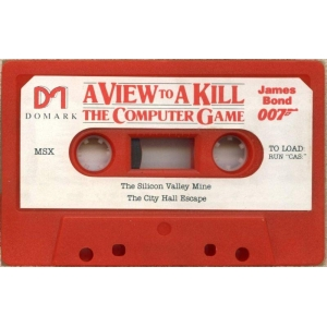 A View To A Kill (1986, MSX, Domark)