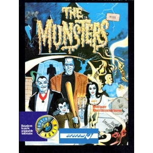 The Munsters (1988, MSX, Alternative Software)