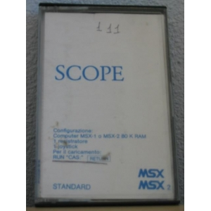 Scope on (1983, MSX, ASCII Corporation)